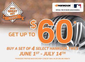 Hankook Tire Rebate